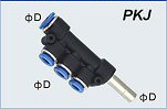 Plug-In Triple Branch Union